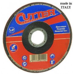VIGOR ABRASIVE WHEELS FOR IRON, WITH DEPRESSED CM. 230X3,2X22