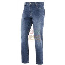 PANTS STRETCH JEANS ART. GLIDER 98 COTTON 2 ELASTANE TG FROM 46 TO 60