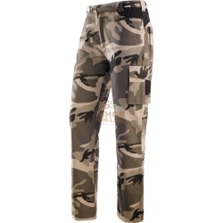 PANTS LEOPRDATO CAMOUFLAGE U. S. ARMY BORN PANTHER COTTON CANVAS TG. S TO XXXL