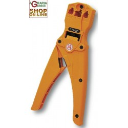 PLIERS FOR PLUG 4-6-8 PIN PEL CABLE, LAN CABLE, TELEPHONE