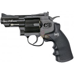 PISTOLA CO2 AIRSOFT DAN WESSON 2,5 POLLICI REVOLVER CALIBRO MM. 6 JOULE 1.4