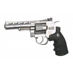 PISTOLA CO2 AIRSOFT DAN WESSON 4 POLLICI REVOLVER CALIBRO MM. 6 JOULE 1.8