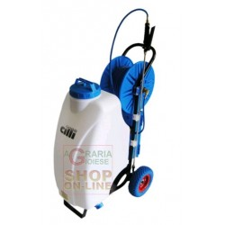 Pump roundup-battery 12 V 45 lt. complete with hose pipe and accessories
