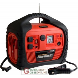 POWER DOME TMEX VALIGETTA MULTIFUNZIONE JUMP STARTER BOOSTER COMPRESSORE INVERTER