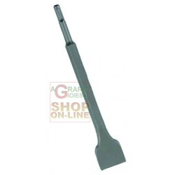 VIGOR SCALPELLO PER MARTELLI ATTACCO SDS-PLUS LARGO 250 MM.