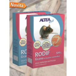 RODIF - Wheat BAIT rat poison-RODENTICIDE GRAIN SACHETS single-DOSE GR. 200