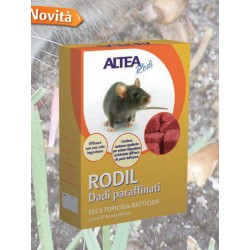 RODIL RAT-KILLING BAIT-RODENTICIDE NUTS PARAFFINIC