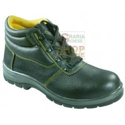 VIGOR SAFETY SHOES CLASSIC TALL BLACK SIZE 39 TO 47