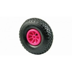 WHEEL FOR FORKLIFT PNEUMATIC PLASTIC MM. 250 F 20