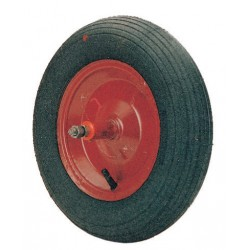 WHEEL FOR WHEELBARROW FULL PIN CM LONG. 21