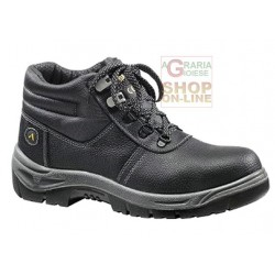 SHOES HIGH PROTECTIVE SILVERSTON S3 SRC full grain LEATHER BOVINE TG. FROM 38 TO 47