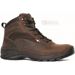 HIKING SHOES HIGH GARSPORT BATNA BROWN LEATHER TG. 39 TO 47