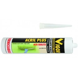VIGOR SEALANT ACRYLIC-PLUS-WHITE ML. 300