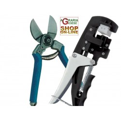 SET SCISSORS, TWO OXEN, DOUBLE-CUT AND INNESTATRICE MANUAL BLACK