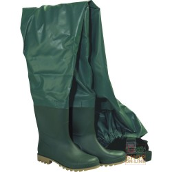 BOOT TO THE DIVING SUIT PVC SOLE PARA COLOR GREEN TG 39 47