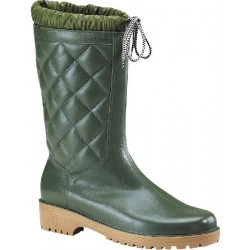 BOOTS PADDED PVC GREEN...