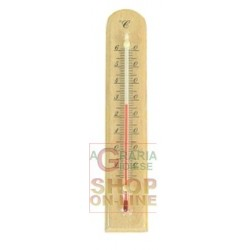 THERMOMETER WALL WOOD BASE BEECH WOOD CM. 24 X 5