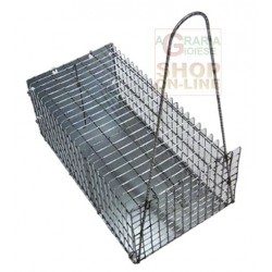 THE TRAP FOR THE MICE IN WIRE MESH LARGE CM. 40 X 18 X 18H