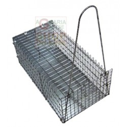 THE TRAP FOR THE MICE IN WIRE MESH SMALL CM. 20 X 10 X 9H