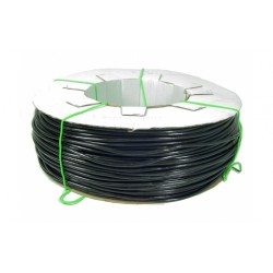 TUBE PVC SMOOTH BLACK FOR IRRIGATION OR TIE FOR PLANTS mm. 3.5 x 5.5 KG. 8