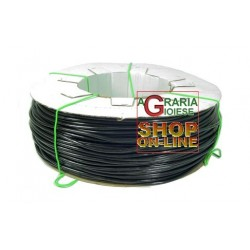TUBE PVC SMOOTH BLACK FOR IRRIGATION OR TIE FOR PLANTS mm. 5 x 8 KG. 9