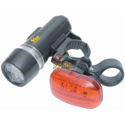 VIGOR LED FLASHLIGHT TORCH BICYCLE FRONT REAR