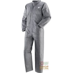 COVERALL PROSHIELD PROPER TYVEK MICRO-PERFORATED WITH ZIP IN COLOR GREY TG M-L-XL-XXL