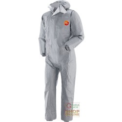 COVERALL TYVEK GREY HEAT-SEALED WITH THE CAP TG S-M-L-XL-XXL
