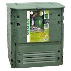 VERDEMAX COMPOSTER COMPOSTER CONTAINER FOR COMPOSTING THERMO-KING LT. 600