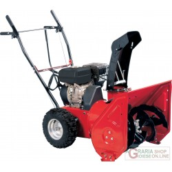 SNOW THROWER TWO-STAGE, NGP SNOWY 65 HP. 6,5 CUTTER CM. 65 SNOW BLOWER