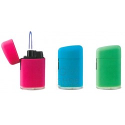 Lighter electronic gas refillable SOFT TOUCH flame windproof