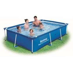 BESTWAY 56403 swimming POOL WITH a CHASSIS above GROUND STEEL PRO FRAME cm. 259x170x61h.