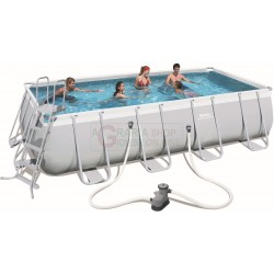 BESTWAY 56465 PISCINA CON TELAIO POWER STEEL FRAME CM. 549x274x122h.