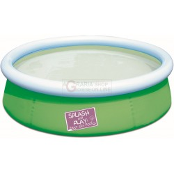 BESTWAY 57241 SWIMMING POOL, ROUND THE SMALL TO CHILDREN CM. 152x38h