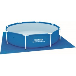 BESTWAY 58000 MAT TOWEL AT THE BASE FOR SWIMMING POOL SQUARE CM. 274x274