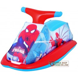 BESTWAY 98012 MOTO ACQUA SPIDERMAN GONFIABILE CM 89X46h.