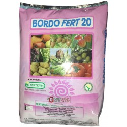 BORDEAUX EDGE FERT 20 FOLIAR FERTILIZER BASED ON COPPER AND BORON KG. 5