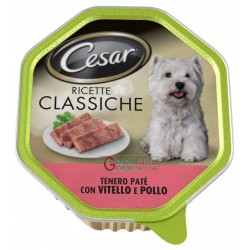 CESAR TRAY PATE WITH VEAL...