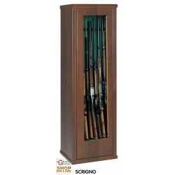 CABINET FOR RIFLES CASKET 2 WITH SOME H. 150 cm. 7 SEATS, GLASS