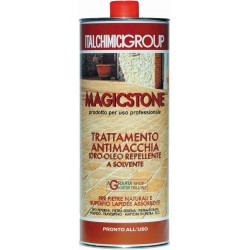 Magicstone trttamento anti-stain water-oil repellent for natural stone and stone surfaces absorbing lt. 1