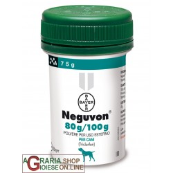 BAYER NEGUVON POWDER GR. 75 FOR DOGS PESTICIDE