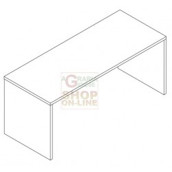 DESK PRACTICAL CM 69X 180 X 74H CEMENT
