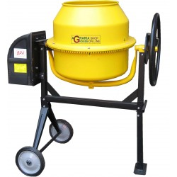 CEMENT MIXER ELECTRIC MOD. MX 140 WATTS 550 220V LT. 140 WITH WHEELS