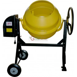 CEMENT MIXER ELECTRIC MOD. MX 180 WATT 800 220V LT. 180 WITH WHEELS