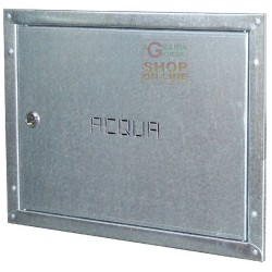 DOOR IN GALVANIZED STEEL ANTI-CUT FOR WATER METER, CM. 40X30