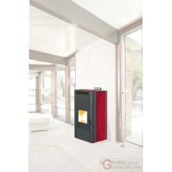 STUFA PELLET KING IDRO KW20 BORDEAUX