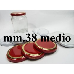 CAP 38 MEDIUM FOR GLASS JARS