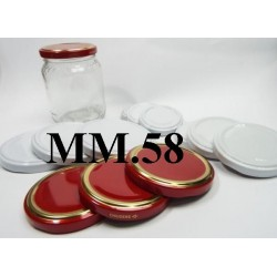 CAP 58 FOR GLASS JARS
