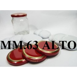 CAP 63 HIGH FOR GLASS JARS