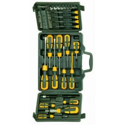 BLINKY SETS SUITCASE BK-52 SCREWDRIVERS+BITS PIECES 52 36468-10/2